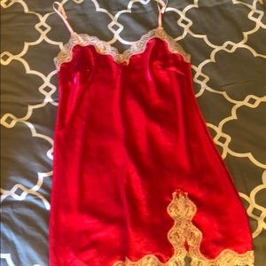 Victoria Secret Red Slip